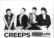 Pop/rockbandet The Creeps