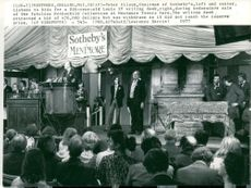 "Victorian treasures of Mentmore Towers, which are auctioned in Sotheby's ""Sale of the Century"" 18-27 May 1977."