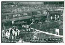 Railway Crash Glasgow