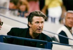 Alec Baldwin på US open