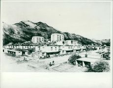 Aden: View of the capital of South Yemen.