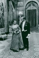 Operan's ballet director James Moore with his wife Linda