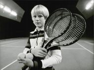 12-year-old tennis player Per Henriksson