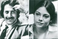 "Dustin Hoffman and Teresa Russel who play the lead role in Ulu Grosbard's ""Straight Time""."