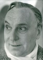 Portrait of Sir Ralph Richardson.