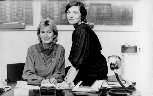 Two television pioneers, Sue Francis and Pat Williams, the journalists who started the first English cable television company exclusively for women