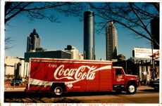 View of Atlanta 1996.