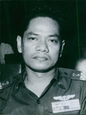 Major-General M. Jusuf in uniform. 1966.