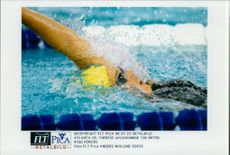 OS in Atlanta 1996. Therese Ahlshammar 100 yards back, try