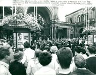 Tivoli 125 years. The jubilee began with the Tivoli Walk Orchestra concerted in front of the main entrance
