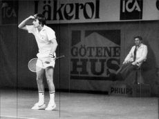 Jimmy Connors is playing in Sweden