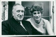 William Walton with his wife
