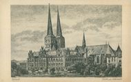 Postcards: Lubeck Cathedral