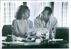 """Danny Glover and Danny Glover in a scene from a 1991 American drama film, """"Grand Canyon."""""""