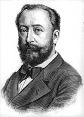 Portrait of Camille Saint Saens.