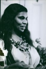 Vintage Photograph of Marian Anderson.