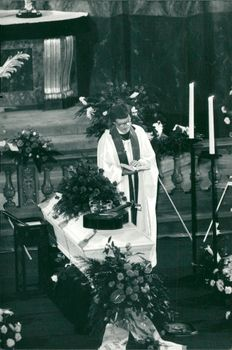Picture from Cornelis Vreeswijk's funeral