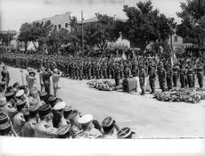 Military in a formation to honor their fellow military man who passed away. The Algerian War, also known as the Algerian War of Independence or the Algerian Revolution  was a war between France and the Algerian independence movements from 1954 to 1962, wh