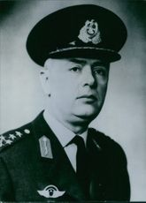 1966Turkish Service chiefs  General Irfan Tansel  Commander of Turkish AirForces.