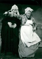 """Martin Ljung and Per Holmberg in the premiere of """"It hurts in the spell"""" at the Maxim Theater."""