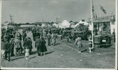 Royal Norfolk Show: General Views - Tractors