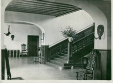 The hall at Ulriksdal Castle