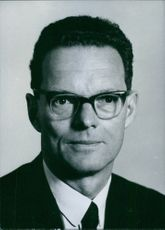 Portrait of Director of the Burma Oil Company since 1962 Harold Robert Tainsh.