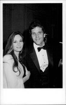 Mary Crosby along with husband Ed Lottimer during MTV Music Awards.