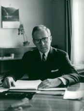 Sigvard Eklund, File Dr / Nuclear Physician