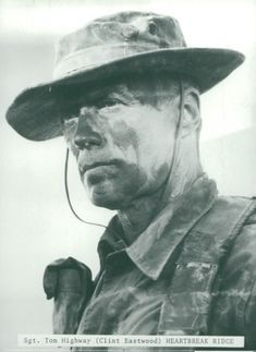 Clint Eastwood as Sgt. Tom Highway in