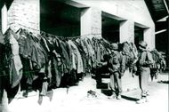clothes of the army.