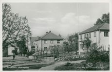 Postcard of Hunter Road in Ulricehamn.