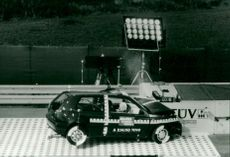 Crash test VW Golf