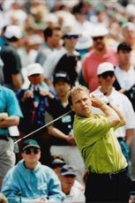 Golf player Per-Ulrik Johansson during Masters 1997
