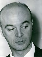 Close up photograph of Gaston Naessens. 1964.