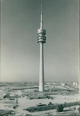 Munch Germany: the olmpia tower.