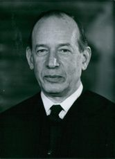 Vintage photograph of Chief Justice Abe Fortas. 1968.