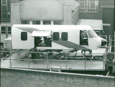 The helicopter simulator at william overy, lowestoft.