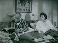 Thor Modeen and Tollie Zellman in a a scene from the film