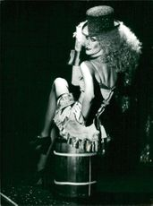 Christer Lindarw, here as Marlene Dietrich