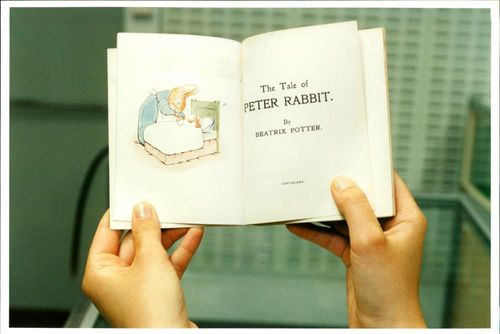 the tail of Peter Rabbit.