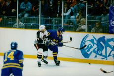 Competitors trying to defeat in 1998 Winter Olympics.
