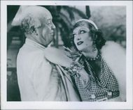 Joan Crawford and Guy Kibbee in the film