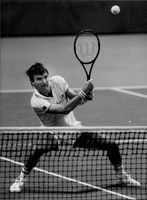 Jimmy Connors in Stockholm Open