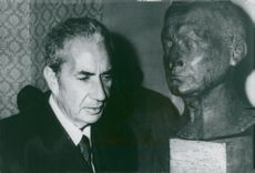 Democrazia Cristiana leader Aldo Moro in parliament the day before he was kidnapped