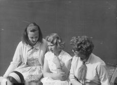 Anne, Princess Royal with two females.