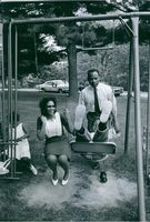 James Meredith enjoying free time with his family.