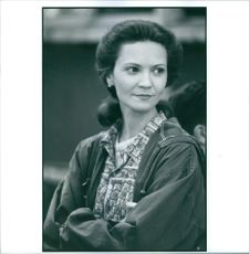 """Joan Allen, Star of """"Searching for Bobby Fisher"""" . 1993"""