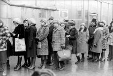 The purchase for different goods has become part of everyday life in the Soviet Union.