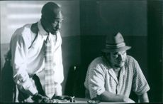 Tupac Shakur and James Belushi star in Gang Related.